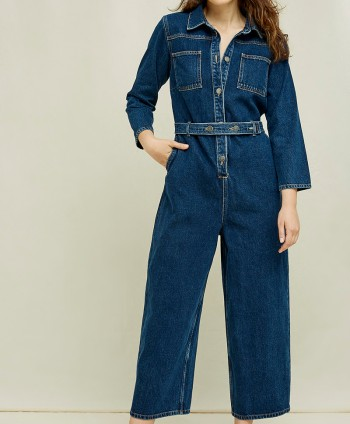 Thea Denim Boilersuit
