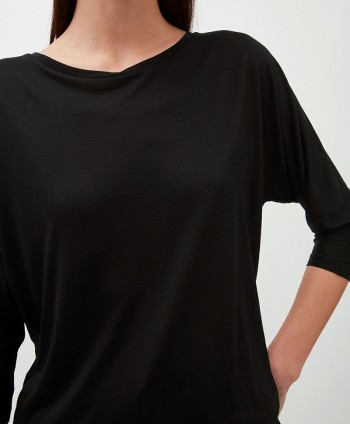 Jaady Black Tencel Top