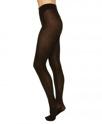 Alice Cashmere Tights Black