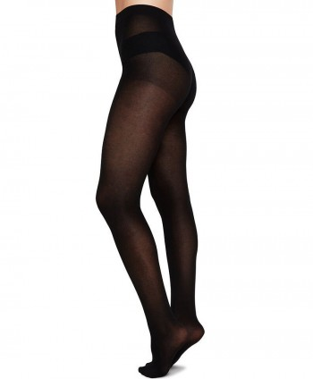 Stina Bio-Cotton Tights Black
