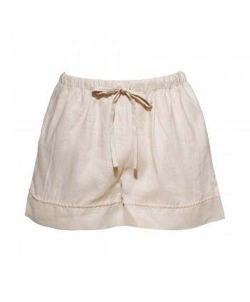 Caroline creme shorts