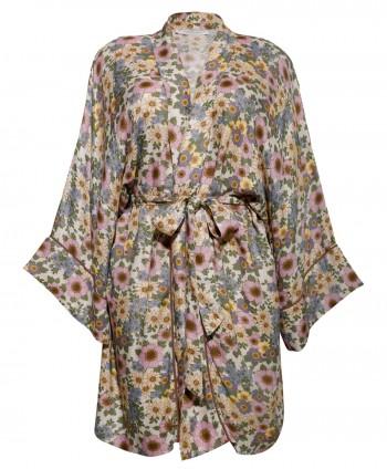 Rania flower kimono