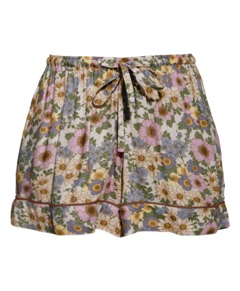 Rania flower shorts